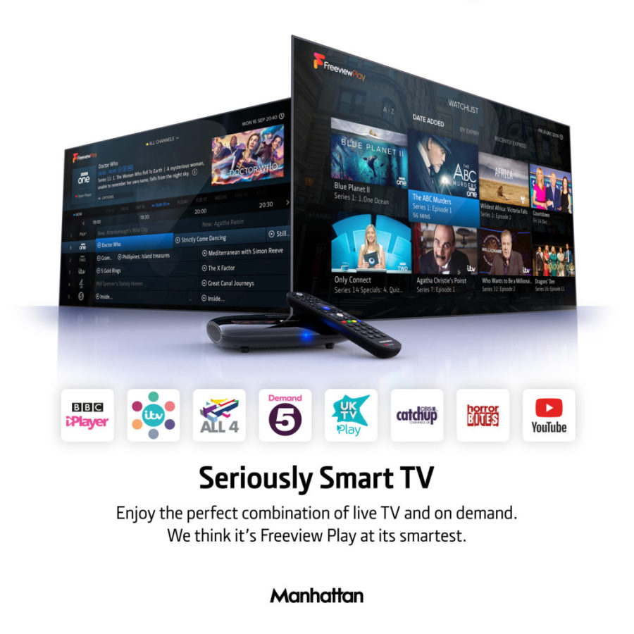 Midsat Freeview Receivers And Recorders